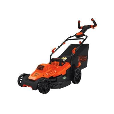15 in. 10 Amp Corded Electric Walk Behind Lawn Mower