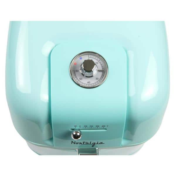Nostalgia Classic Retro 7 Qt Aqua Air Fryer Claf7aq The Home Depot