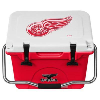 20 QT Cooler Red/White - Detroit Red Wings