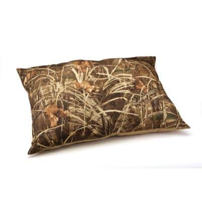 30 in. x 40 in. Max 4 Camo and Khaki Pet Bed