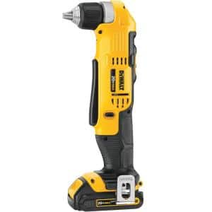 20-Volt MAX Cordless 3/8 in. Right Angle Drill/Driver, (1) 20-Volt 1.3Ah Battery, Charger & Bag