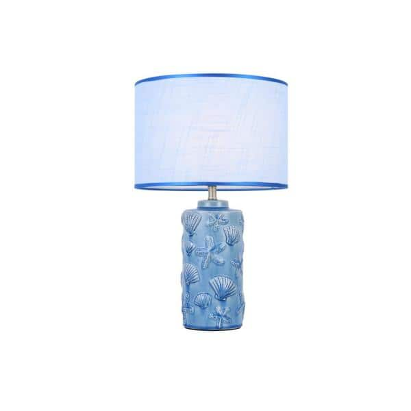 Casainc 19 In Blue High Temperature, Home Depot Table Lamps For Bedroom