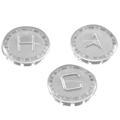 Hot/Cold/Diverter Index Buttons for Price Pfister Faucet Handles