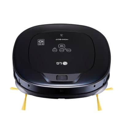 Hom-Bot Smart Robotic Vacuum Cleaner with WiFi Enabled in Black