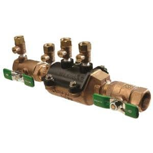 3/4 in. Double Check Composite Vessel Strainer Valve Assembly