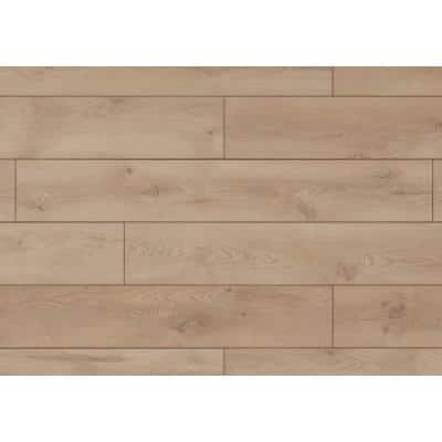 Cambridge Oak 12 mm Thick x 7-9/16 in. Wide x 50-5/8 in. Length Water Resistant Laminate Flooring (15.95 sq. ft./case)
