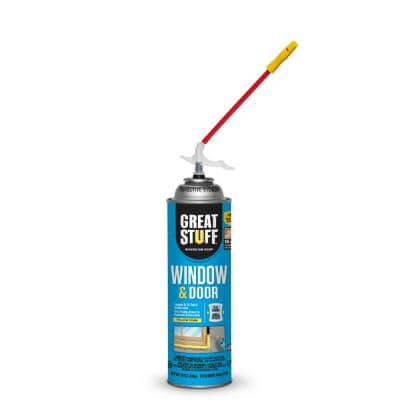 16 oz. Window and Door Insulating Foam Sealant with Quick Stop Straw