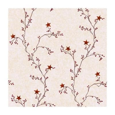 Best of Country Star Berry Vine Strippable Roll Wallpaper (Covers 56 sq. ft.)