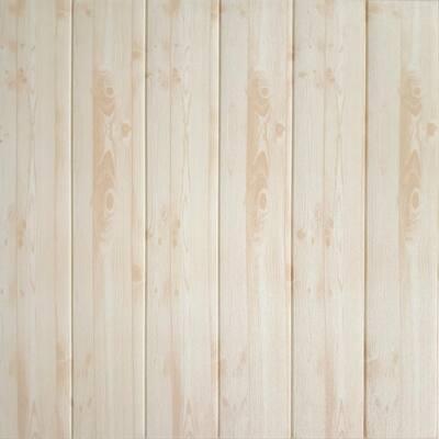 Falkirk Jura II 28 in. x 28 in. Peel and Stick Beige Faux Planks PE Foam Decorative Wall Paneling (10-Pack)