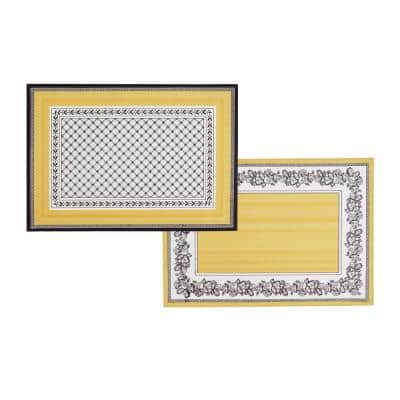 Audun 14 in. W x 20 in. L Multi-Color-Color Print Placemats (Set of 4)