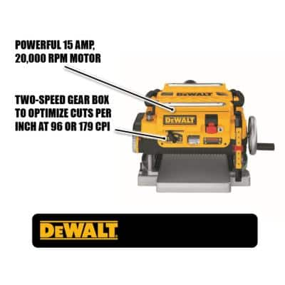 15 Amp Corded 13 in. Planer