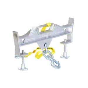 4,000 lb. Capacity Hoisting Hook Double Swivel Latch