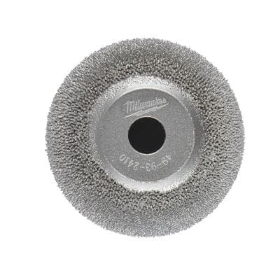 2 in. Flared Contour Low Speed Tire Buffing Wheel