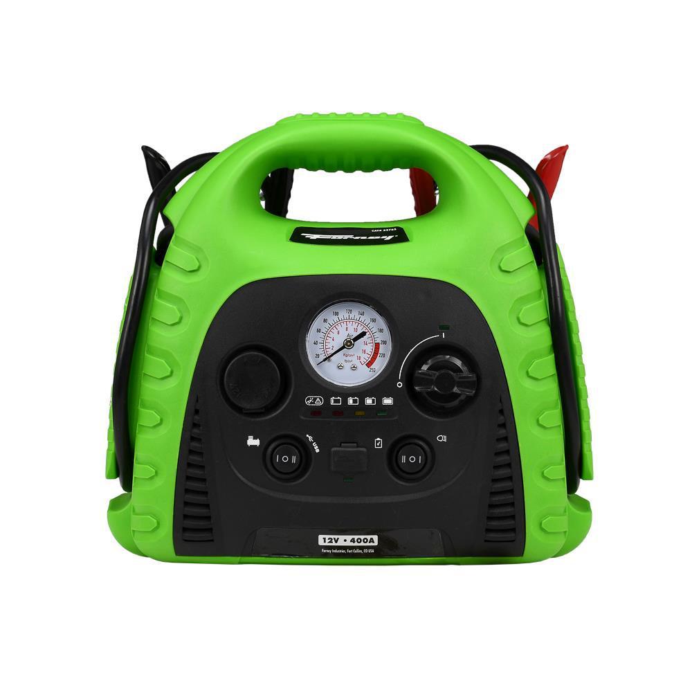 12-Volt 18 Ah Jump Start with Air Compressor