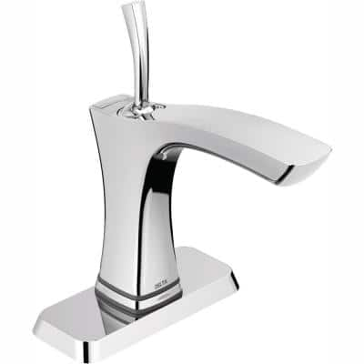 Tesla Single Hole Single-Handle Bathroom Faucet with Touch2O Technology in Chrome