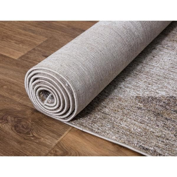 Concord Global Trading Genoa Natural 3 Ft X 4 Ft Geometric Area Rug 69013 The Home Depot