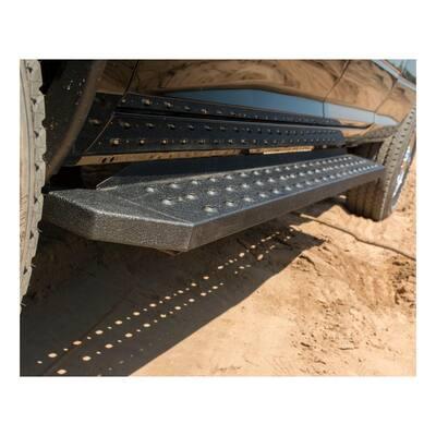 RidgeStep Black Steel 6-1/2 x 85-Inch Truck Running Boards, Select Honda Ridgeline