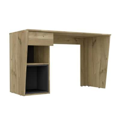 Aster 47 in. Natural Finish Console Laptop Desk