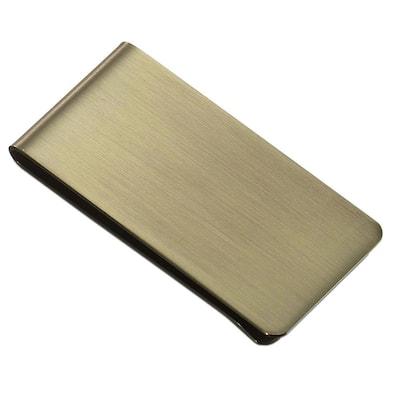 Archduke Brass Stainless Steel Money Clip