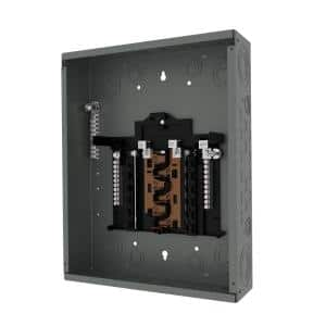 PN Series 125 Amp 12-Space 12-Circuit Main Lug Plug-On Neutral Load center Indoor with Copper Bus