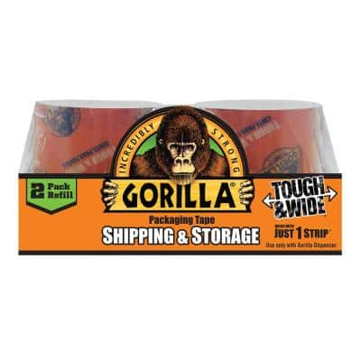 2.83 in. x 30 yds. Packaging Tape 2-Piece Refill (6-Pack)
