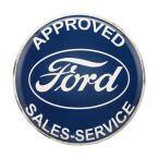 Ford High Gloss Tin Button Sign