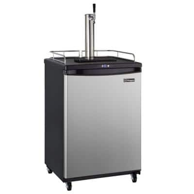 Commercial Grade Digital Single Tap Home Brew Beer Keg Dispenser with Dispense Kit