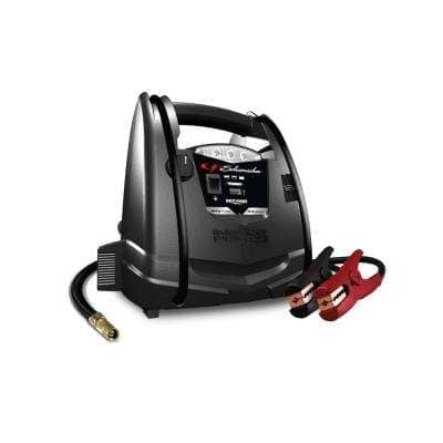 1000 Peak Amp Portable Power and Jump Starter with Air Compressor
