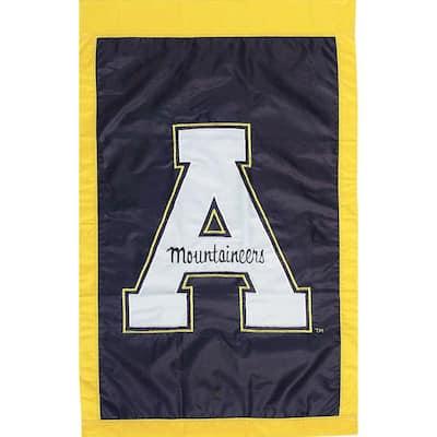 NCAA 12-1/2 in. x 18 in. Appalachian State 2-Sided Garden Flag