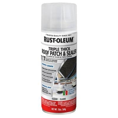 13 oz. Clear Triple Thick Roof Patch & Sealer (6 Pack)