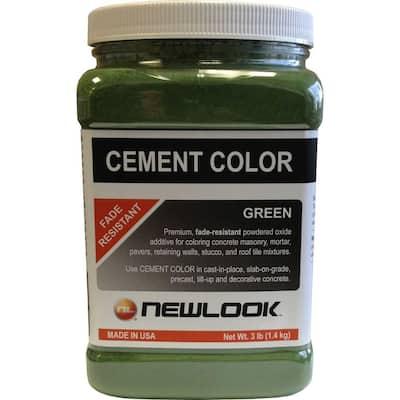 3 lb. Green Fade Resistant Cement Color