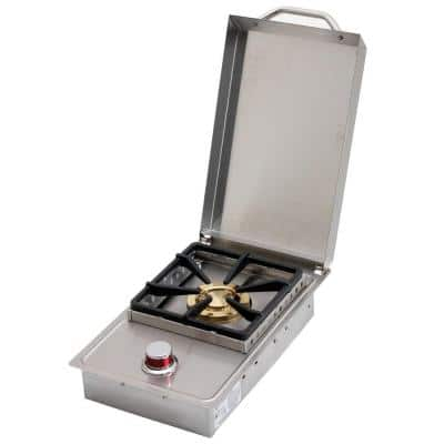 Stainless Steel Built-In Dual Fuel Gas Single Side Burner