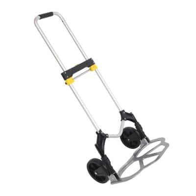 330 lbs. Capacity Folding Portable Hand Truck Dolly Cart with Wheels