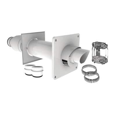 2 in. Dia Polypropylene Horizontal Termination Kit Venting Water Heaters