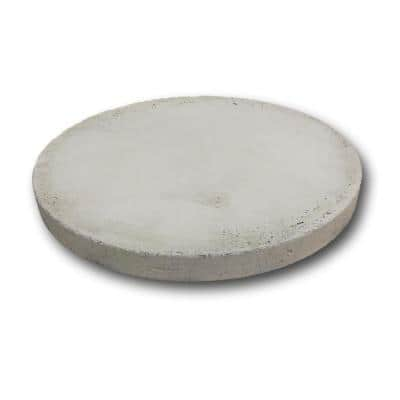 25 inch  x 2 inch Concrete Pad for Upright Propane Tanks