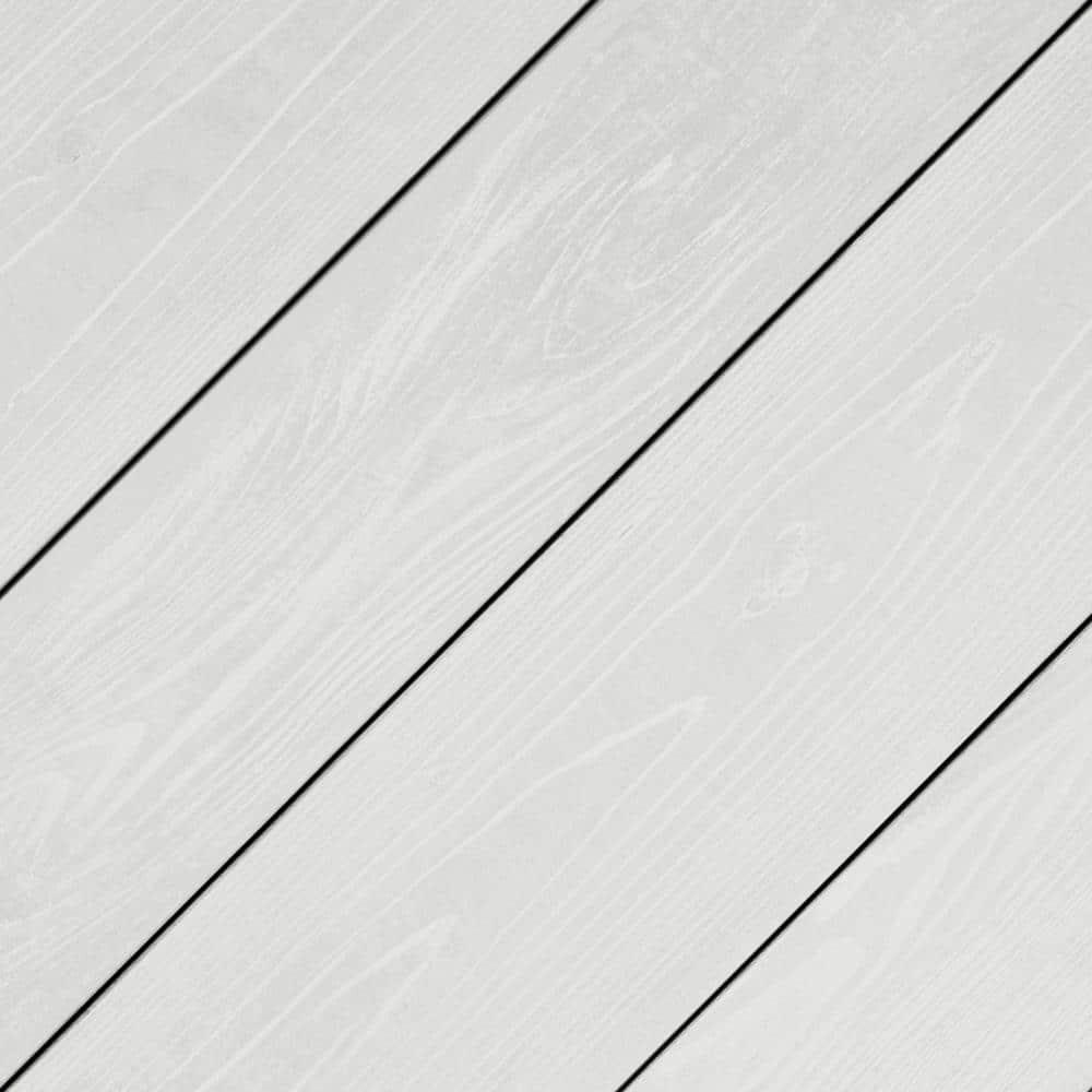 Behr Premium 1 Gal Pfc 66 Ice White Low Lustre Enamel Interior Exterior Porch And Patio Floor Paint 605001 The Home Depot