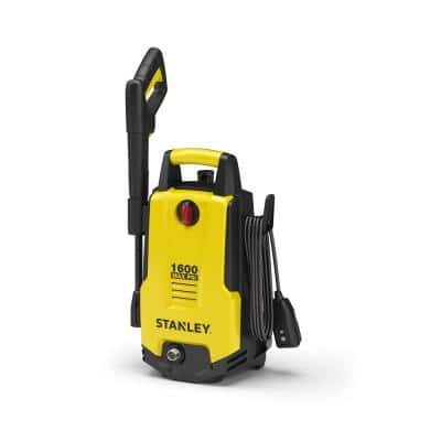Portable 1,600 PSI 1.3 GPM Electric Pressure Washer with 20 ft. Hose