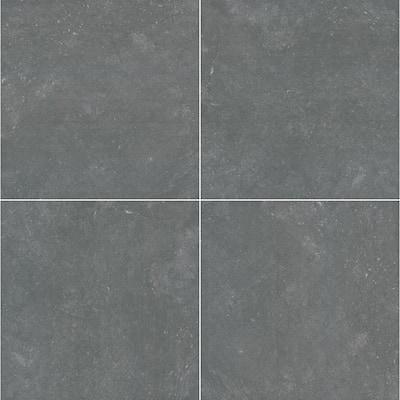24 in. x 24 in. Square Vulkon Nero Matte Porcelain Paver Floor Tile (14 Pieces/56 sq. ft./Pallet)