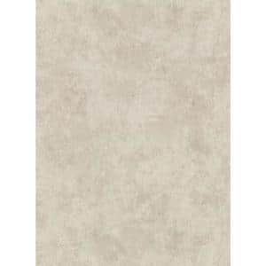 Hereford Taupe Faux Plaster Vinyl Strippable Roll (Covers 60.8 sq. ft.)