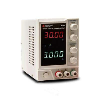 30-Volt/3 Amp DC Power Supply