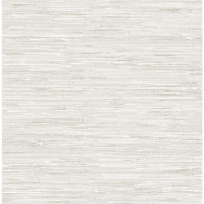Cream Grassweave Neutral Textured Wallpaper Sample