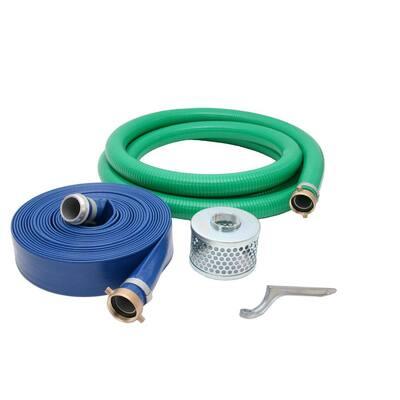 4 in. Water Pump Hose Kit