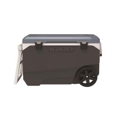 MaxCold Latitude Cooler 90 qt. Blue/Gray
