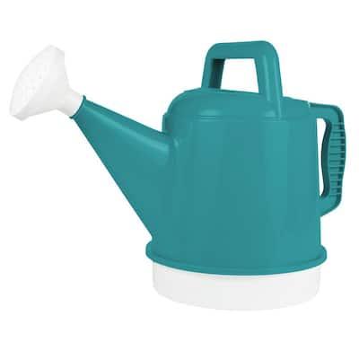 2 Gal. (256 fl. oz.) Watering Can Deluxe Bermuda Teal Green