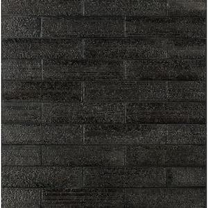 Weston Ridge Silver 2 in. x 9 in. 11mm Glazed Clay Subway Wall Tile (33-piece 5.64 sq. ft. / box)