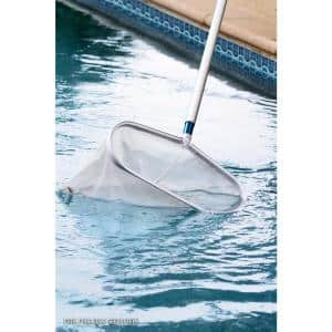 Heavy-Duty Aluminum Leaf Rake for Swimming Pools and Spas
