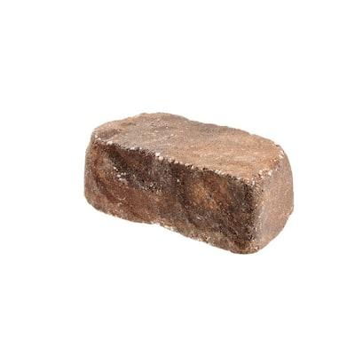 Beltis 4 in. x 11 in. x 6 in. Harvest Blend Concrete Retaining Wall Block Pallet (140-Pieces/Pallet)
