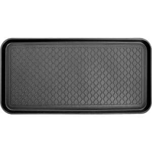 15 in. x 30 in. 100% Recycled Polypropylene Indoor/Outdoor Boot Tray Mat (2-Pack)