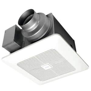 WhisperGreen Select Pick-A-Flow 50/80 or 110 CFM Quiet Exhaust Fan, Flex-Z Fast bracket + dual 4 or 6 in. duct adapter