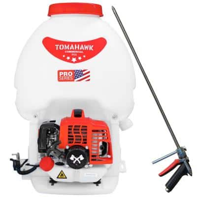 5 Gal. 450 PSI Gas Backpack Sprayer Pump with Irrigation Rod for Tree Root Protection Pesticide Fertilizer